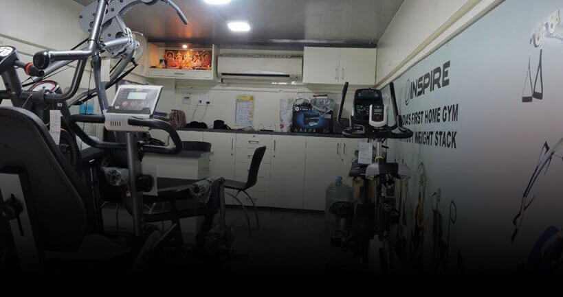 gym equipment showroom pune