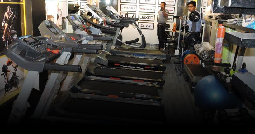 treadmill showroom pune